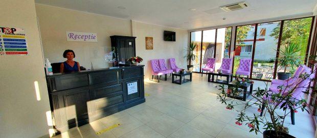Hotel violeta receptie